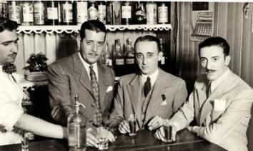Pintin Castellanos con Juan DArienzo y Roberto Biagi